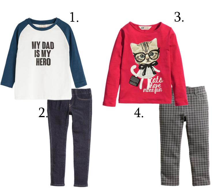 ubrania do przedszkola, zestawy, wyprawka przedszkolaka, wikilistka, zara baby, zara kids