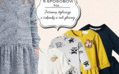 jesienna stylizacja, ubranie dla dziecka, ubranie dla dziewczynki, sukienka, fotografia dziecięca, blog parentingowy