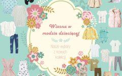 wiosna, moda dziecięca, moda dla dzieci, ubrania na wiosnę