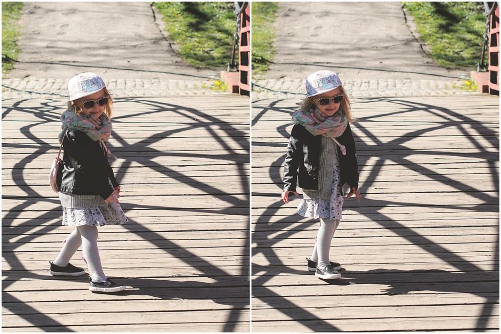 hm kids, sukienka w króliki, czapka love, moda dziecięca