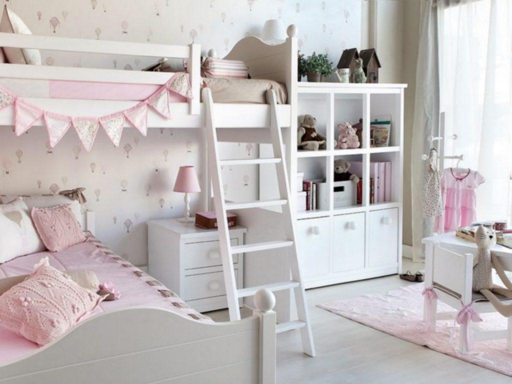 pok j dla dziewczynki inspiracje. Black Bedroom Furniture Sets. Home Design Ideas
