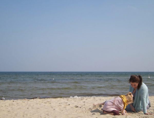 blog parentingowy, moda dziecięca, morze, plaża