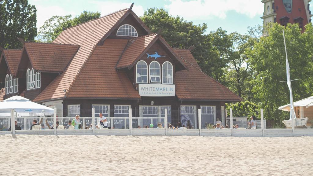 white marlin, sopot, plaża, flaming&co, prezent na dzień dziecka