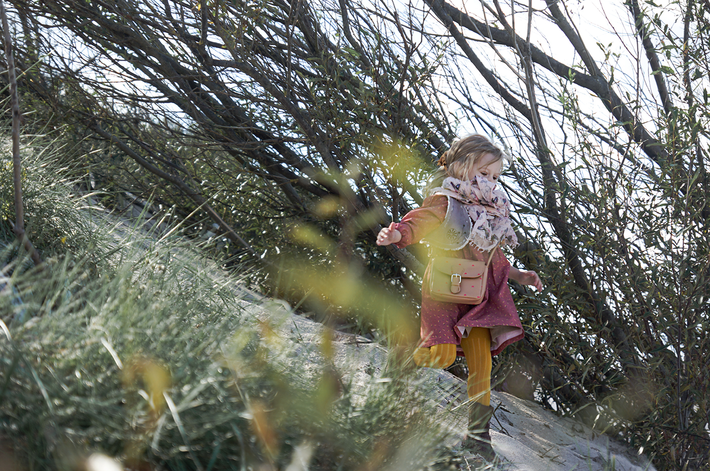 moda dziecięca, blog moda dziecięca, jesień, wikilistka, grain de chic, marsala, sukienka na jesień