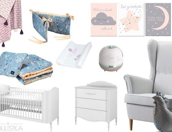 Pokój dla niemowlaka - meble, plakaty