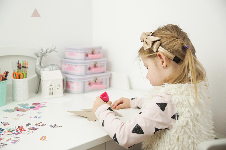 obrazkowy list do mikołaja, list do mikołaja, świąteczne diy z dzieckiem
