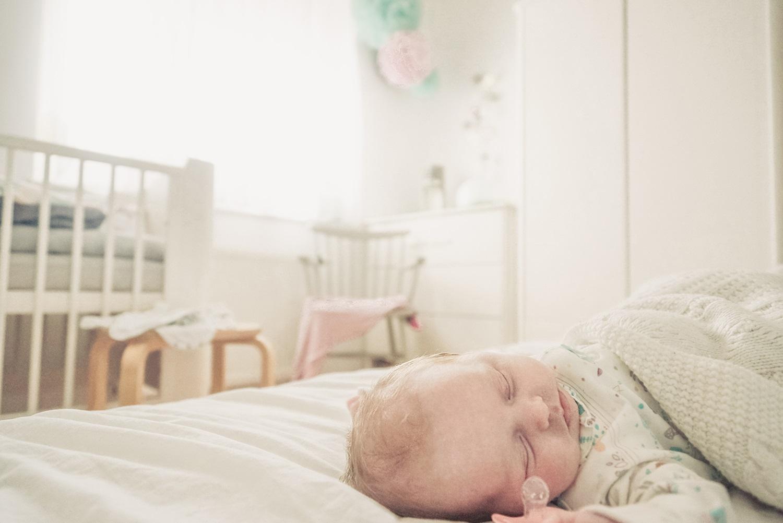 projekt 365 - śpiące dziecko