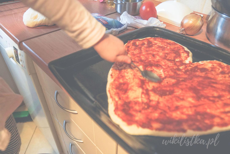 Projekt 365, pizza, serce, pizza w kształcie serca