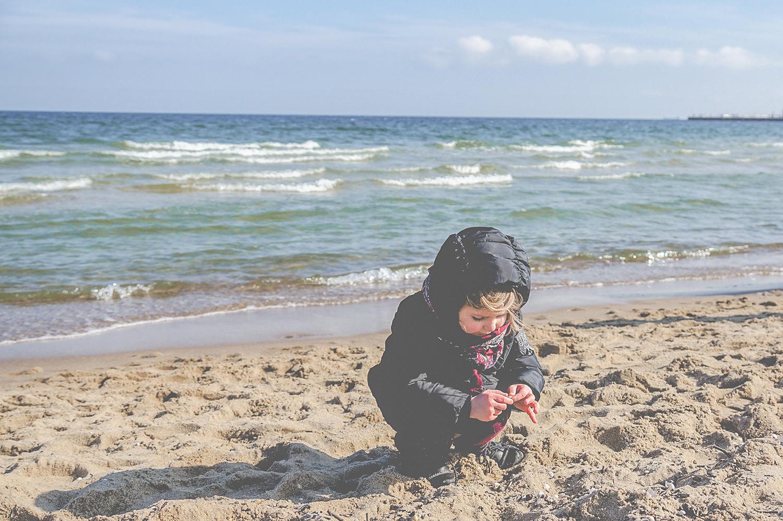 slow life, life balance, zatoka sztuki, sopot, plaża, blog parentingowy