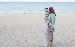 depresja, depresja matki, depresja mamy, plaża, dziecko na plaży