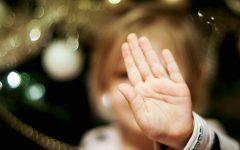 Boże Narodzenie, święta, dłoń, stop