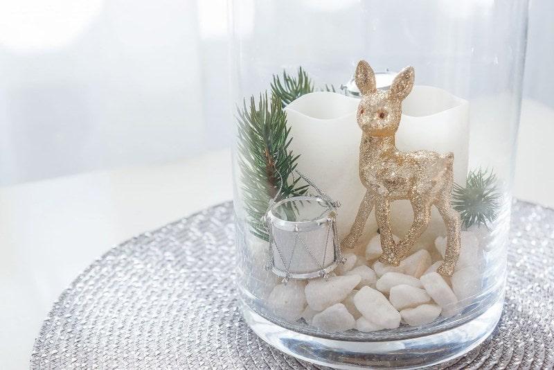 Jelonek DIY, ozdoby świąteczne, zrób to sam