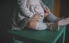kappahl, newbie, sukienka dla dziewczynki, moda dziecięca