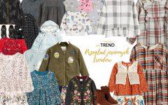 trendy, moda dziecięca, moda dla dzieci, ubrania dla dzieci