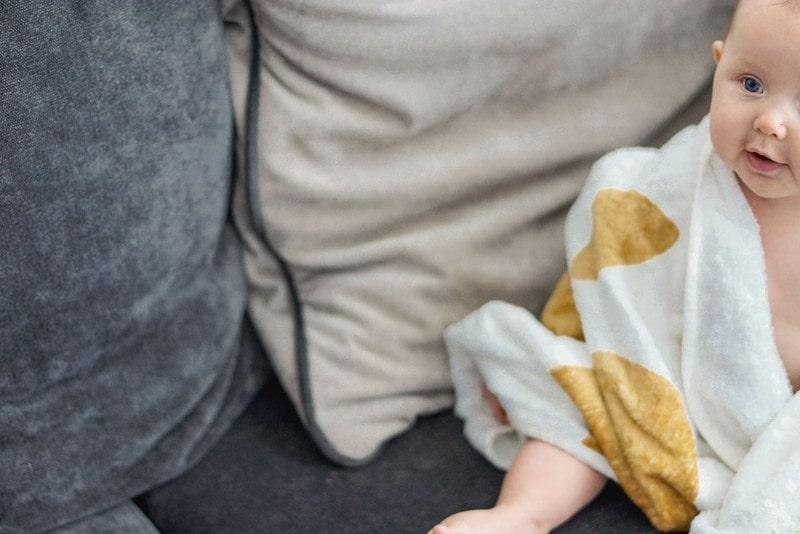 Fartuch Cuddledry, ręcznik bambusowy, dziecko