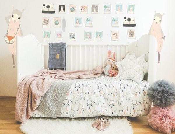 łóżeczko dla niemowlaka, łóżko dla niemowlaka, łóżeczko dla dziecka