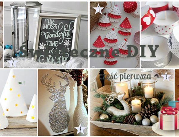 Ozdoby świąteczne - część pierwsza. Renifery, świeczki, ramki, choineczki.
