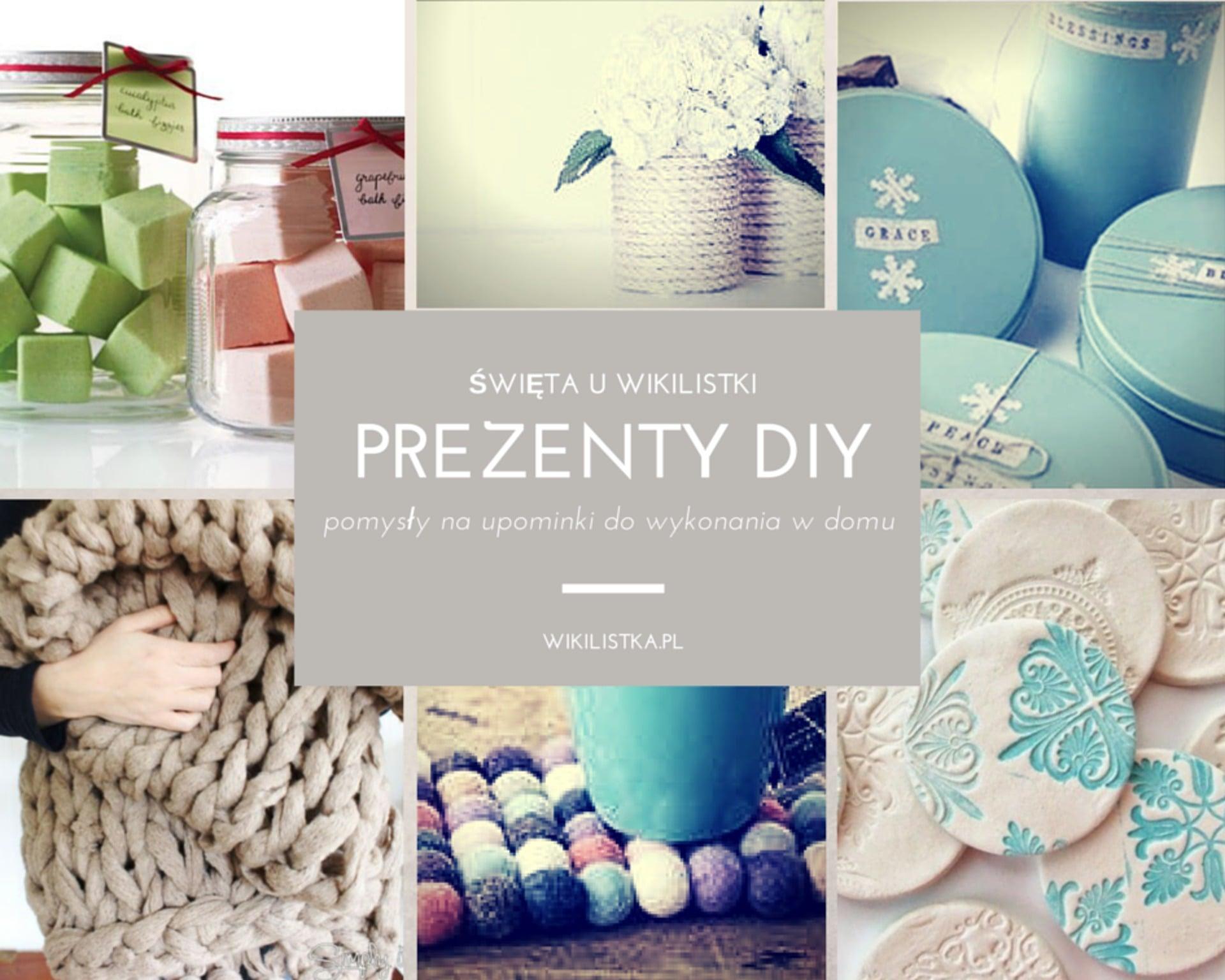 Prezent DIY święta u Wikilistki - pomysły na upominki do wykonania w domu. Cukier w kostkach, pudełka