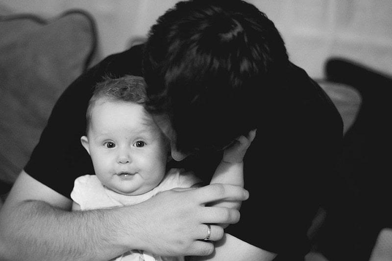 Projekt 365 ojciec i dziecko razem