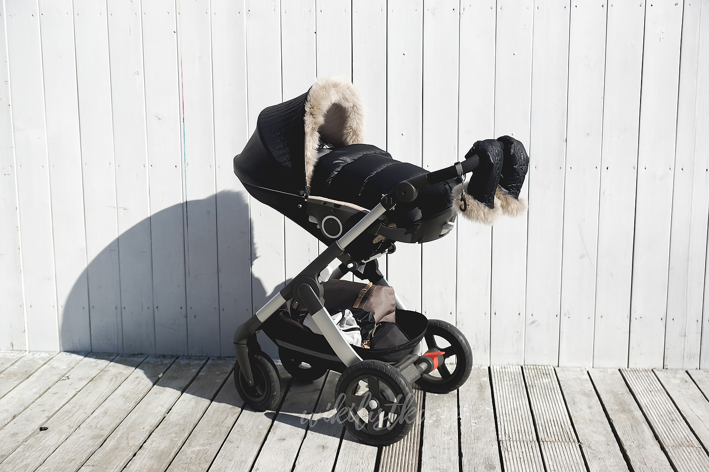 Stokke Trailz Winter Kit Onyxblack