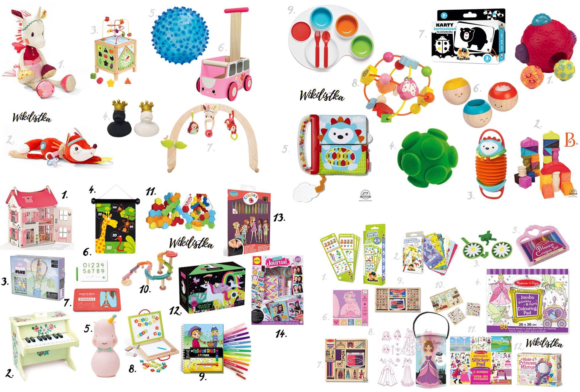 Prezent na Dzień Dziecka - zabawka, piłka, zabawki, układanki, przebieranki, kredki, pianinko, domek dla lalek