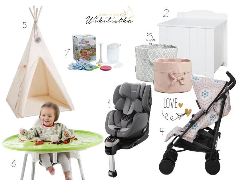 prezent na roczek, pierwsze urodziny, elodie spacerówka, skrzynia na rabawki, tipi, recaro zero1