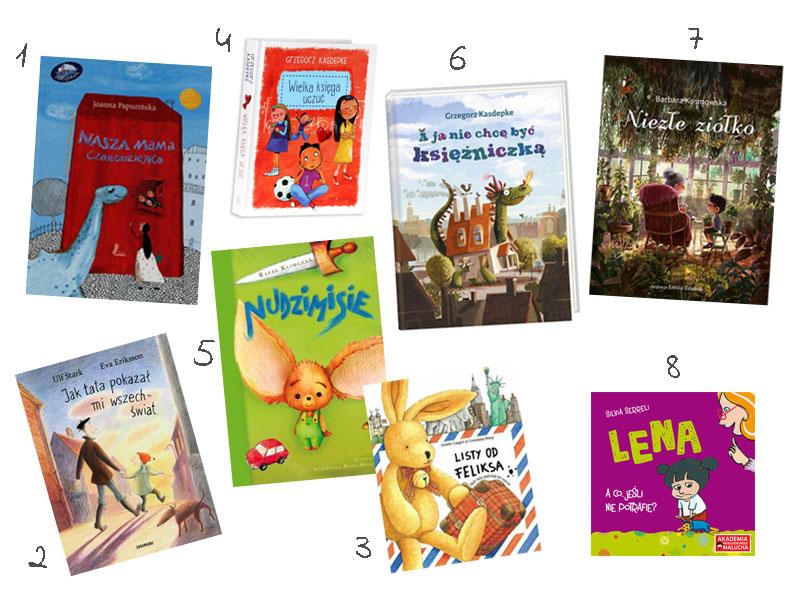 książki dla przedszkola, dla dziecka, listy od feliksa, wielka księga uczuć, nasza mama czarodziejka
