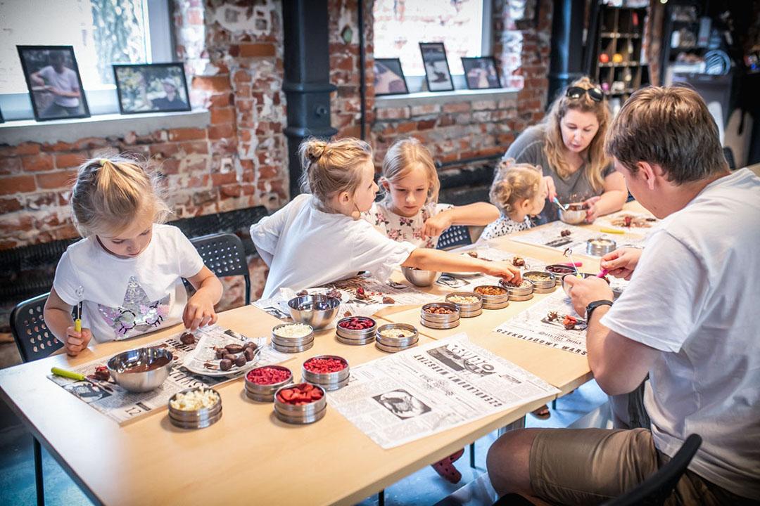 warsztaty, łódź z dzieckiem, manufaktura-czekolady