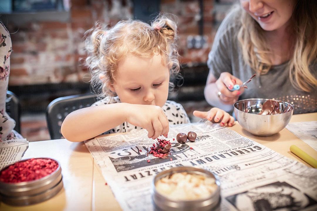 czekolada, warsztaty, łódź z dzieckiem, manufaktura-czekolady