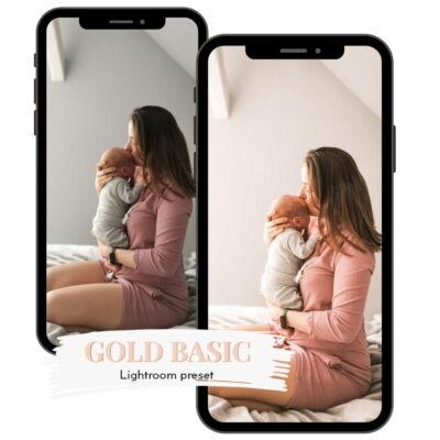 GOLD BASIC - preset do Adobe Lightroom by wikilistka-2-min