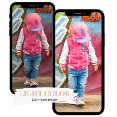 LIGHT COLOR - preset do Adobe Lightroom