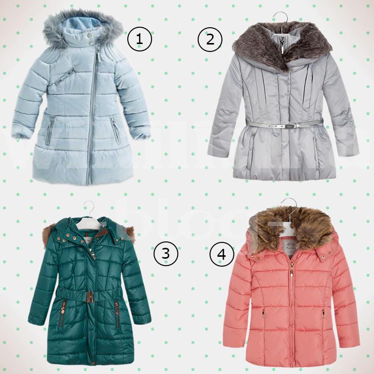 zimowa kurtka, kurtka dla dziewczynki, kurtka na zimę, zima 2014, wikilistka, przegląd, blog, moda dziecięca