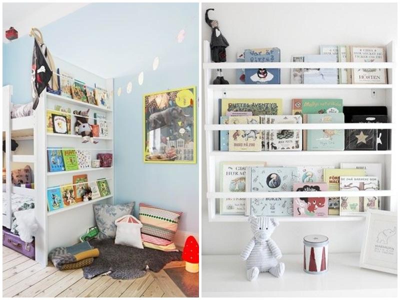 półka-na-książeczki-pokój-dla-dziewczynki