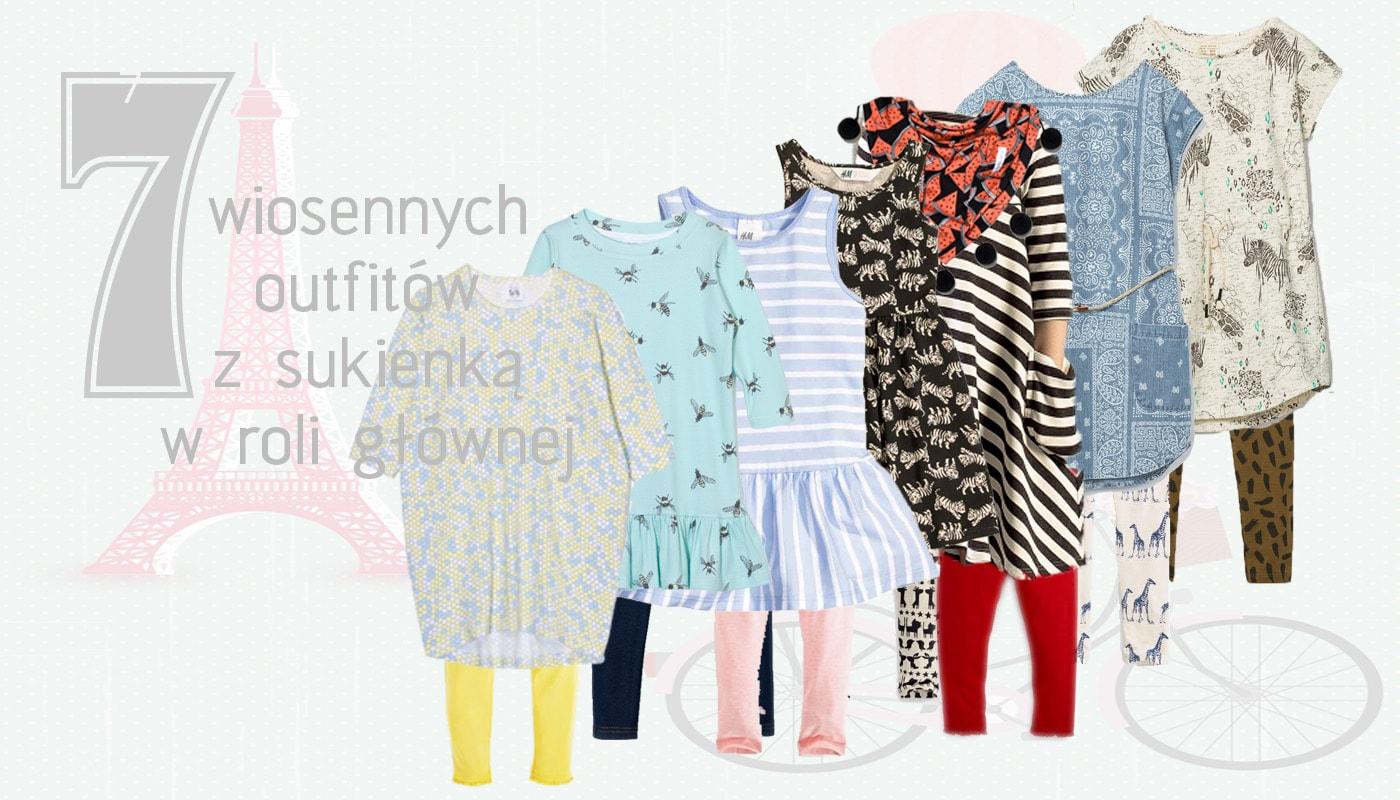 28866c661c 7 x sukienka na wiosnę Zara kids