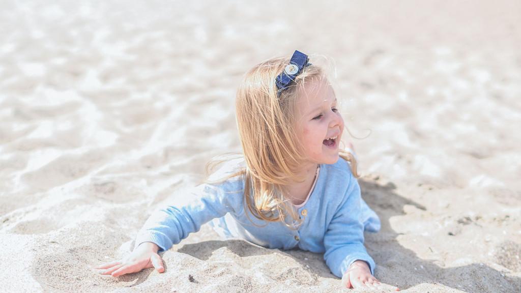 na plaży, dzień dziecka, wikilistka
