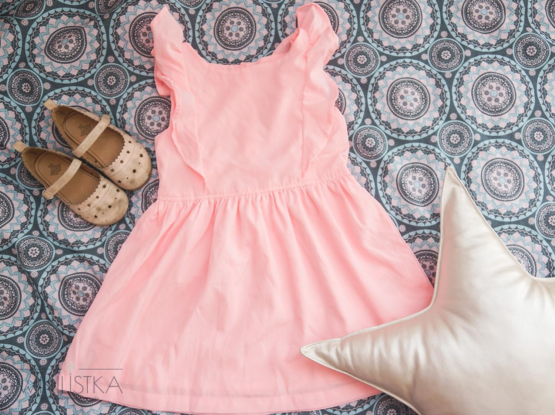 sukienka dla dziewczynki, moda dziecięca