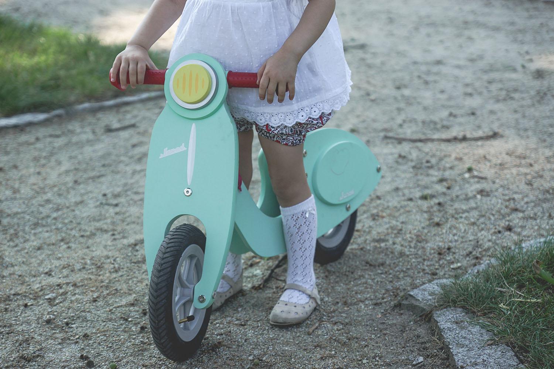 rowerek miętowy janod