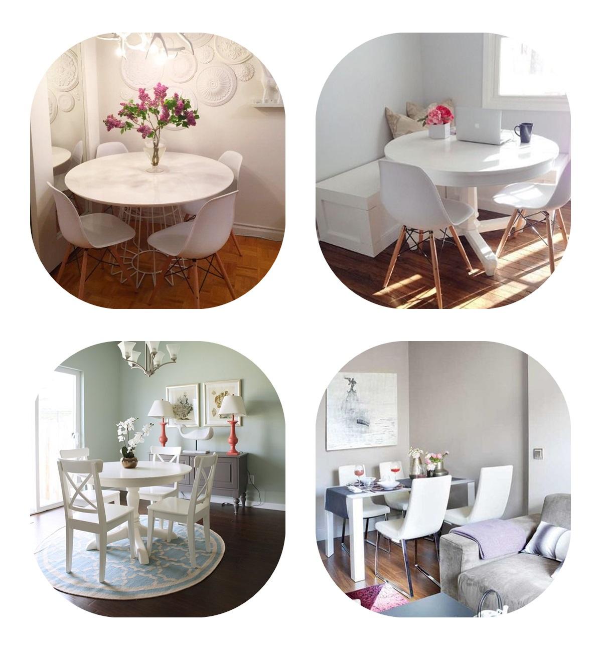 kącik-jadalniany-stół-i-krzesła