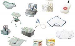 Kąpiel dziecka - wyprawka dla noworodka, różne akcesoria
