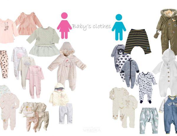 Ubranka dla noworodka, chłopiec, dziewczynka - pastelowe kolory i zdecydowane niebieskie bądź białe