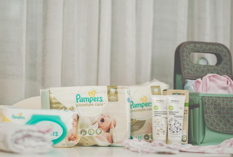 pampers, wyprawka dla niemowlaka, wyprawka dla noworodka, wyprawka
