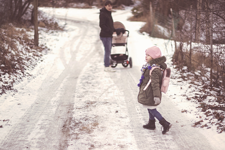 Dziecko, droga do przedszkola, plecak, plecaczek, projekt 365