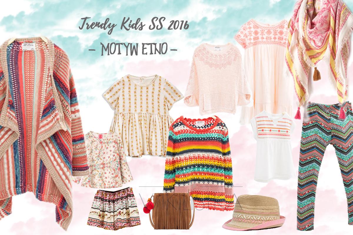 trendy wiosna lato, etno, moda dziecięca, moda dla dzieci