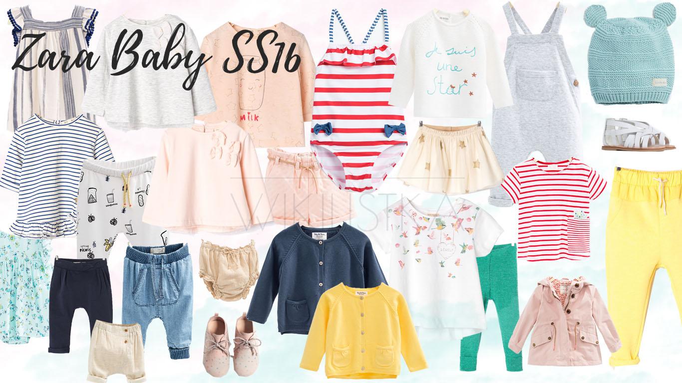 letnia moda dziecięca, ubrania na lato, zara baby
