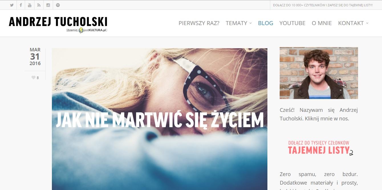 share week, andrzej tucholski, share week 2016, prowadzenie bloga