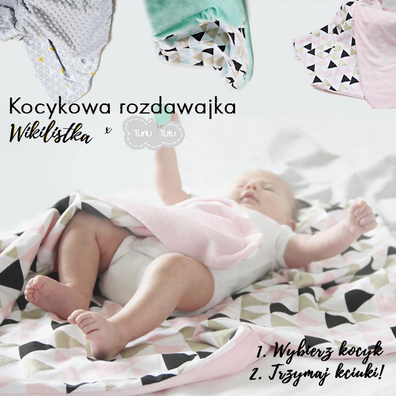 konkurs turlu tutu blog wikilistka kocyk dla niemowlaka kocyk light