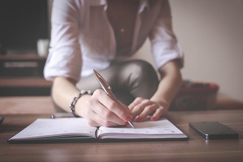 planowanie, lista, życiowe porządki, smart life, slow life