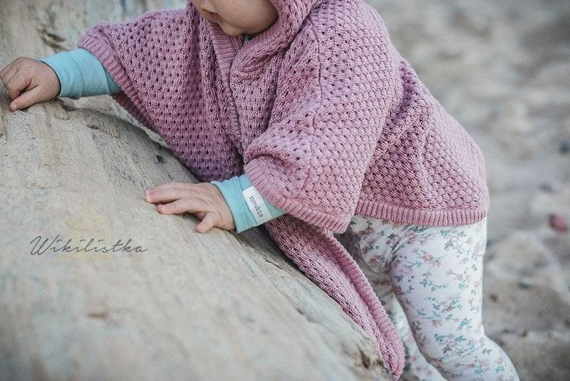 kappahl newbie, moda dziecięca, moda dla dzieci, ponczo, ponczo dla dzieci