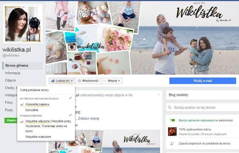 Facebook Wikilistka