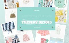 Trendy SS2015, kolaż - przegląd garderoby kilkulatki